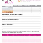 Step Up Action Plan Worksheet